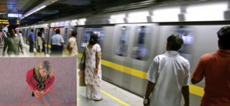 Del metro de Delhi