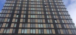 Le plus haut bâtiment de Sheffield a été équipé d'écrans LCD Avire