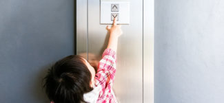 Child safety in lifts