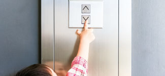 Child safety in elevators