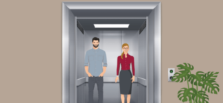 How to reduce the impact of COVID-19 for elevator passengers