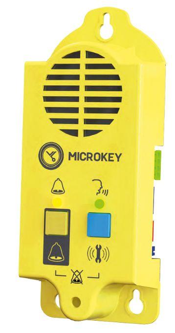MK-891 módulo de trífonia para foso para la llamada de atrapamiento de operario cuando se encuentra en el foso, ascensor bloqueado o no en el mismo.